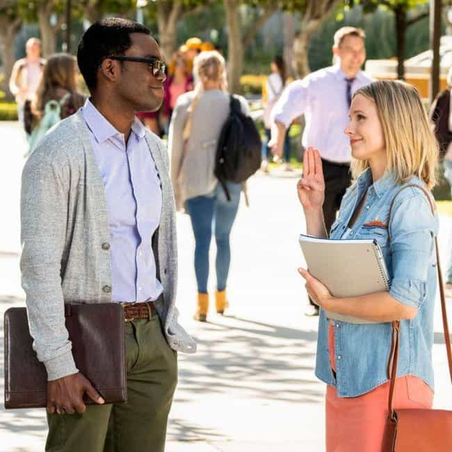 That's Really Specific is listed (or ranked) 2 on the list The Best Forking Quotes from 'The Good Place'