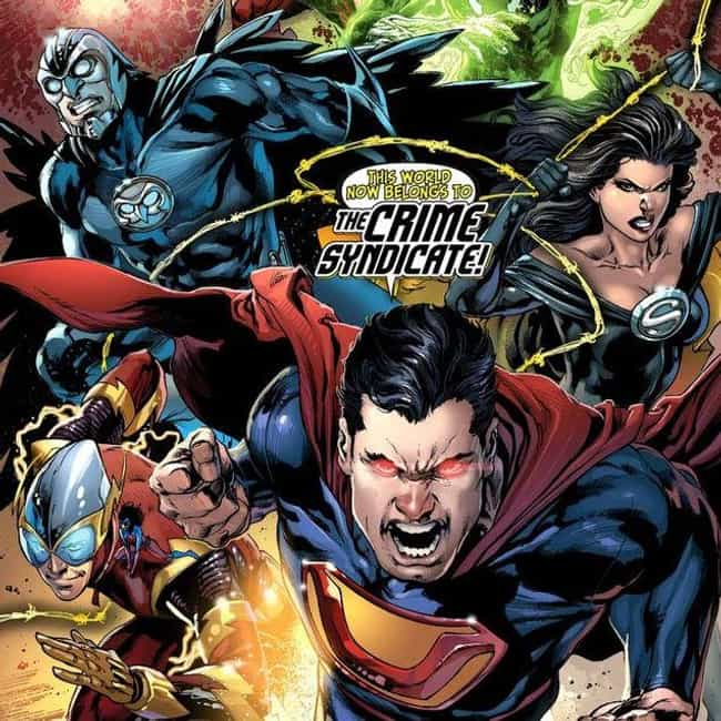 Earth-3 is listed (or ranked) 4 on the list All the New 52 DC Multiverse Earths