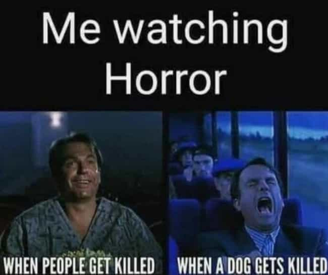 Image result for horror movies meme