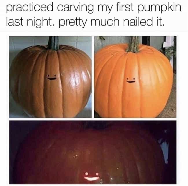 :) is listed (or ranked) 2 on the list Hilarious Memes For People Who Are Way Too Into Halloween