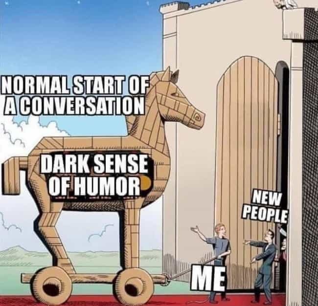 Hilarious Memes Only People With A Super Dark Sense Of Humor Will Understand
