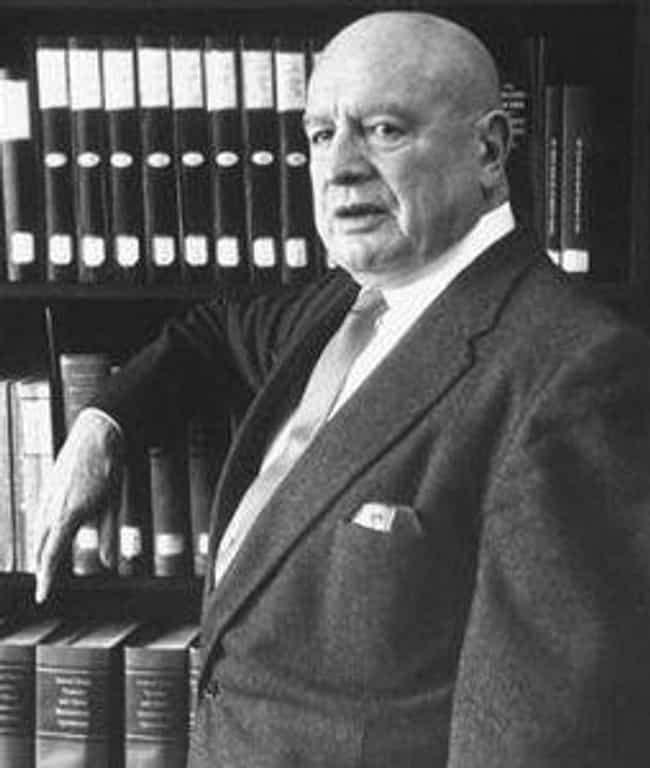 He Was Pro-Pot Until His Job W... is listed (or ranked) 1 on the list Harry J. Anslinger: The Man Responsible For Banning Cannabis In America