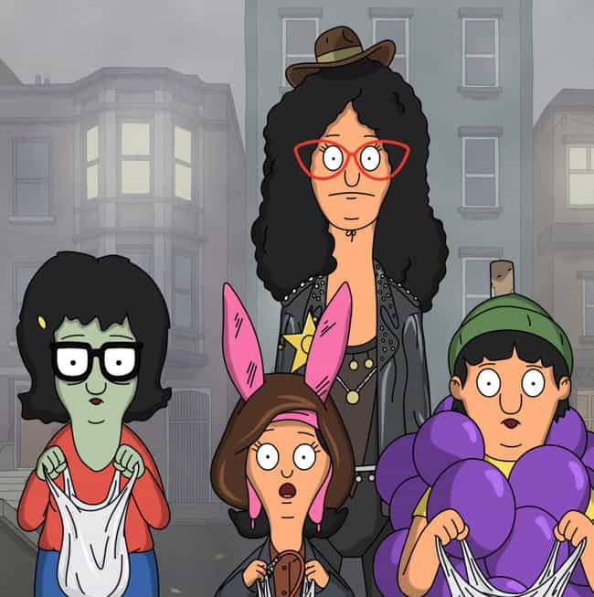 The Wolf of Wharf Street is listed (or ranked) 4 on the list The Best Halloween Episodes On Bob's Burgers