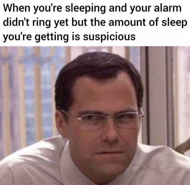 Sounds Suspicious is listed (or ranked) 3 on the list 22 Memes For People Who Value Their Sleep Over Their Jobs