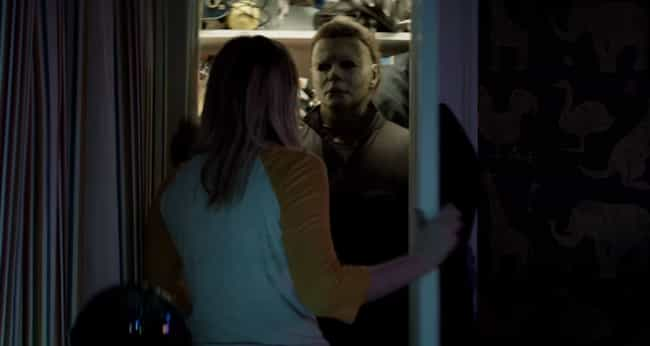 John Carpenter's Score ... is listed (or ranked) 2 on the list Every Reference To The Original 'Halloween' In The 2018 Sequel