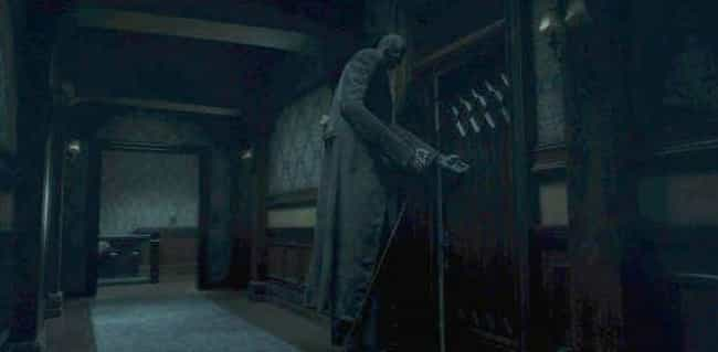 The Tall Man is listed (or ranked) 3 on the list The Scariest Ghosts In 'The Haunting Of Hill House'