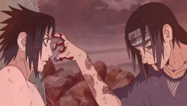 Sasuke Battles Itachi is listed (or ranked) 4 on the list The 15 Most Epic Moments From 'Naruto Shippuden'