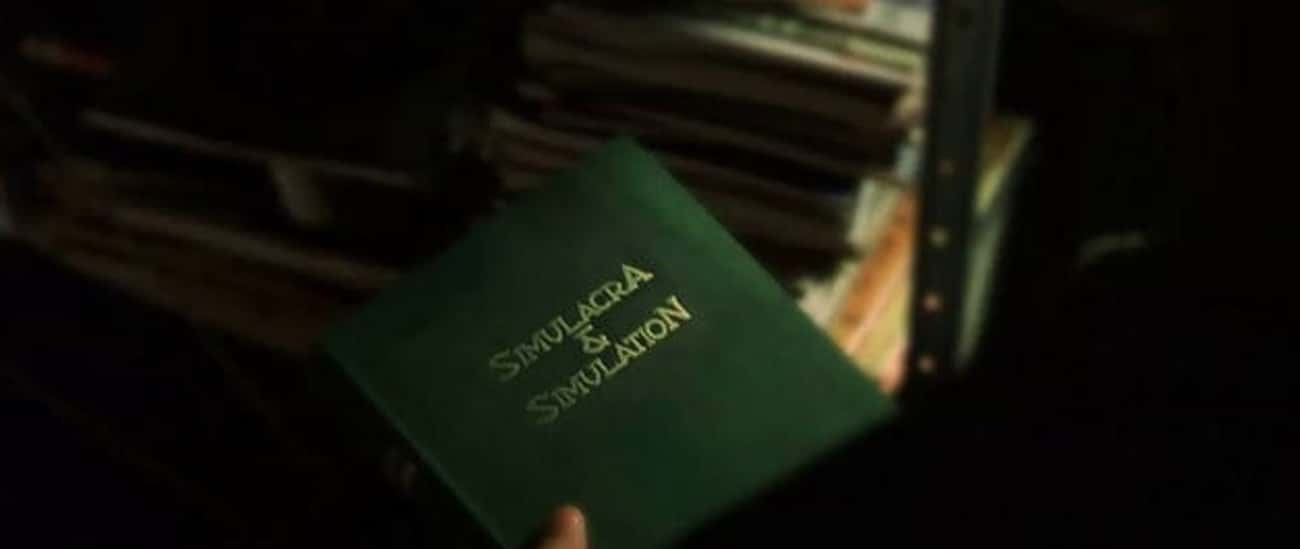 Neo Owns A Book Called 'Simula is listed (or ranked) 3 on the list Foreshadowing We Missed In 'The Matrix' Movies