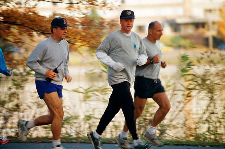 They Go Jogging, Even If They Don't Want To