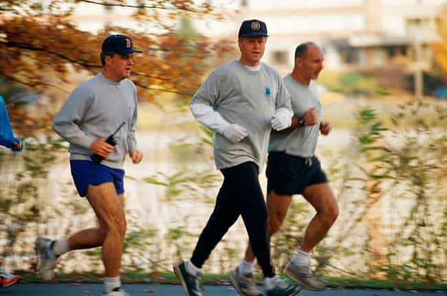 They Go Jogging, Even If They ... is listed (or ranked) 1 on the list A Day In The Life Of A Secret Service Agent
