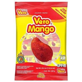 Vero Mango is listed (or ranked) 2 on the list The Best Mexican Candy and Sweets