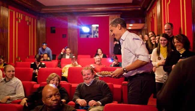 Family Theater is listed (or ranked) 2 on the list Rooms You Never Knew Existed In The White House