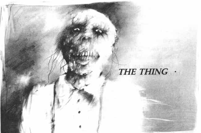 The Thing is listed (or ranked) 3 on the list The Scariest Illustrations From 'Scary Stories to Tell in the Dark'