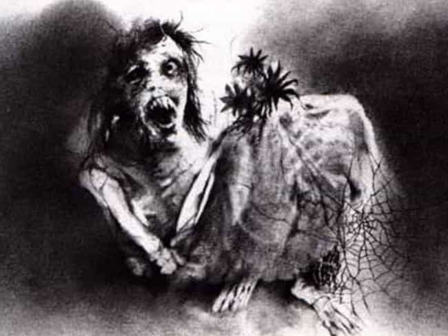 The Bride is listed (or ranked) 2 on the list The Scariest Illustrations From 'Scary Stories to Tell in the Dark'