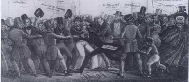 Instead Of Retreating, Some Fi... is listed (or ranked) 2 on the list Tired Of Discrimination, Irish Catholic Immigrants Fought Their Oppressors In The Broad Street Riot