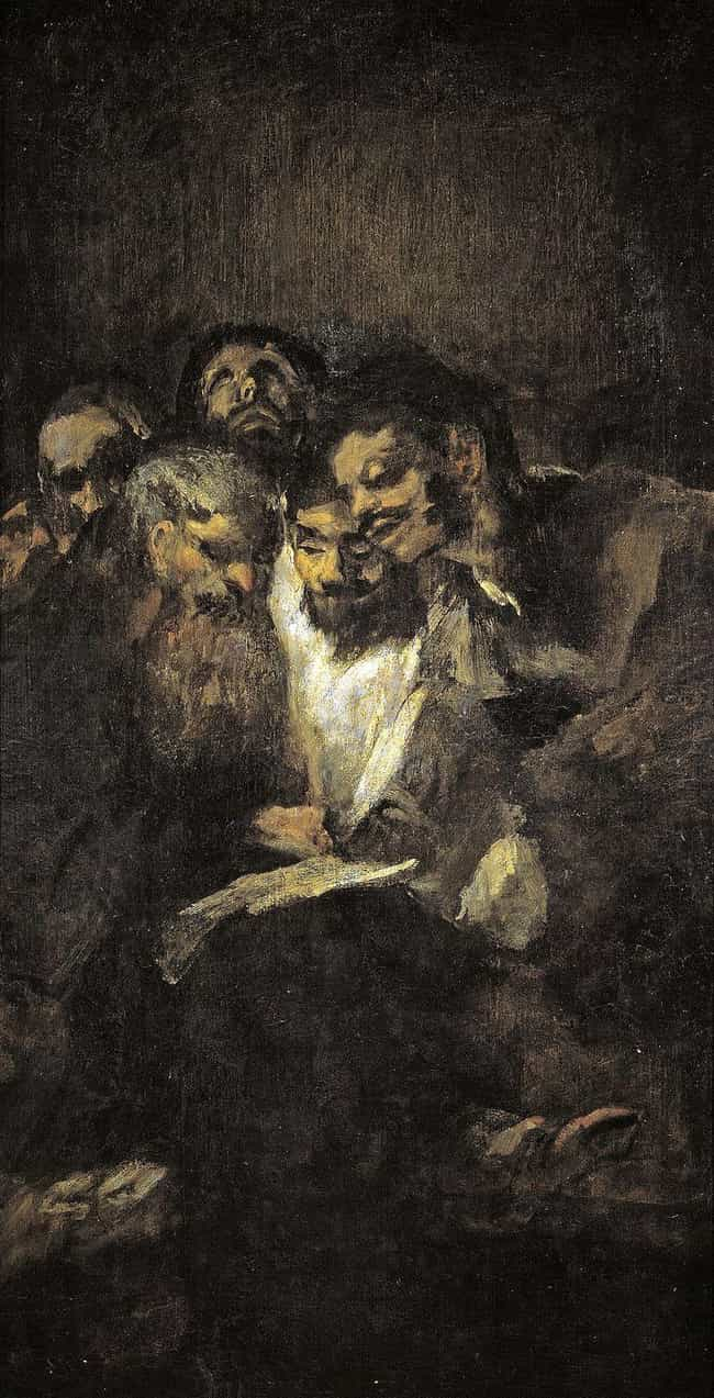 Men Reading is listed (or ranked) 4 on the list The 'Black Paintings' By Francisco Goya Are Deeply Disturbing, And No One Knows Why He Painted Them