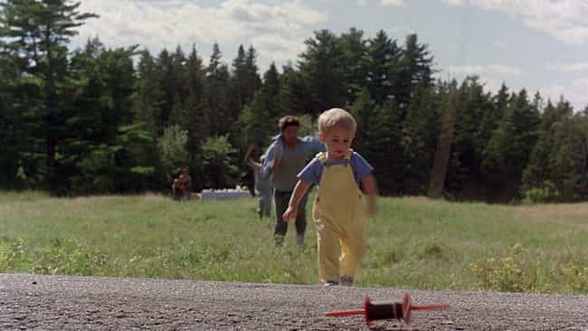 Gage's Death is listed (or ranked) 2 on the list 15 Horrifyingly Gruesome Things In Stephen King's Book 'Pet Sematary'