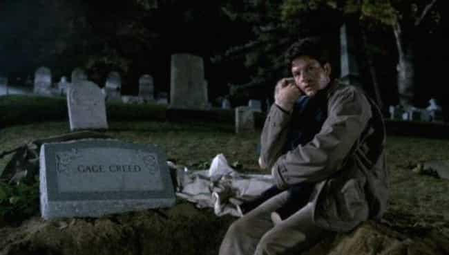 Louis Digs Up Gage's Body is listed (or ranked) 4 on the list 15 Horrifyingly Gruesome Things In Stephen King's Book 'Pet Sematary'