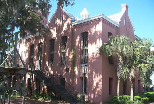 St. Augustine's Old Jail, Wher... is listed (or ranked) 4 on the list The Most Haunted Locations In Florida That You Can Actually Visit