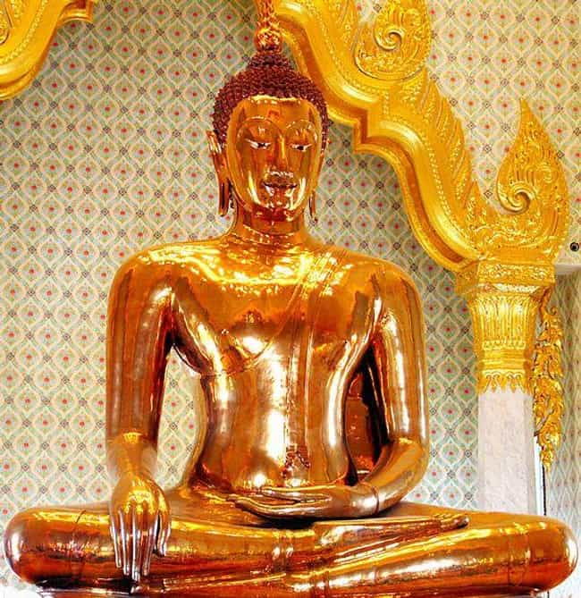 A Solid Gold Buddha Once Hid I... is listed (or ranked) 2 on the list Historians Reveal History's Best Kept Secrets