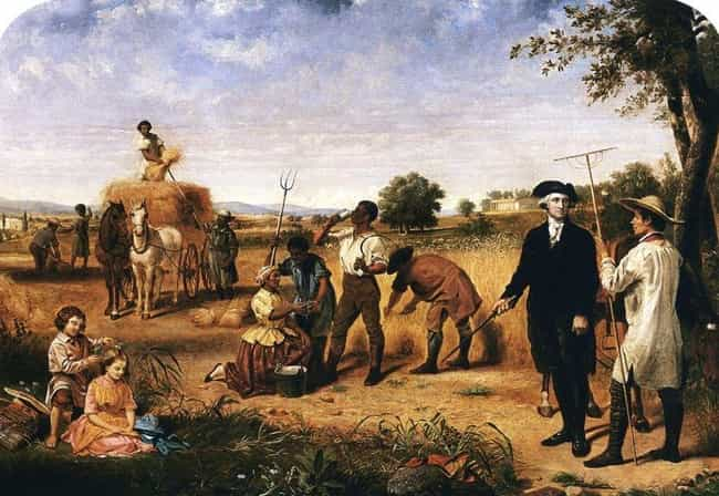 The Slaves Were Expected To Wo... is listed (or ranked) 1 on the list What It Was Like To Be A Slave At George Washington's Mount Vernon