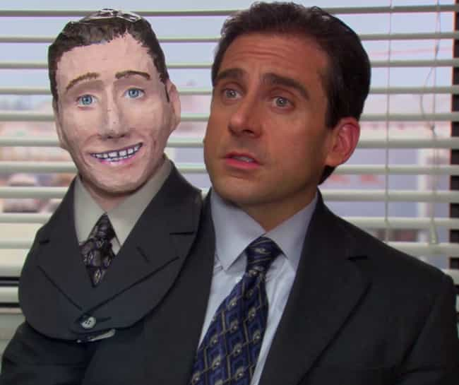 Two Headed Michael is listed (or ranked) 4 on the list The Best Halloween Costumes From 'The Office,' Ranked