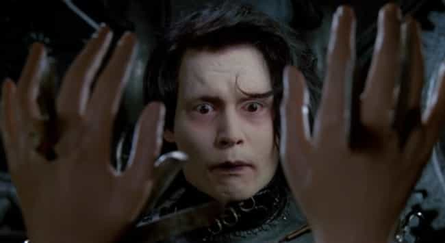 Edward Shreds Up His Own Hands is listed (or ranked) 3 on the list The 14 Most Disturbing Moments From 'Edward Scissorhands'
