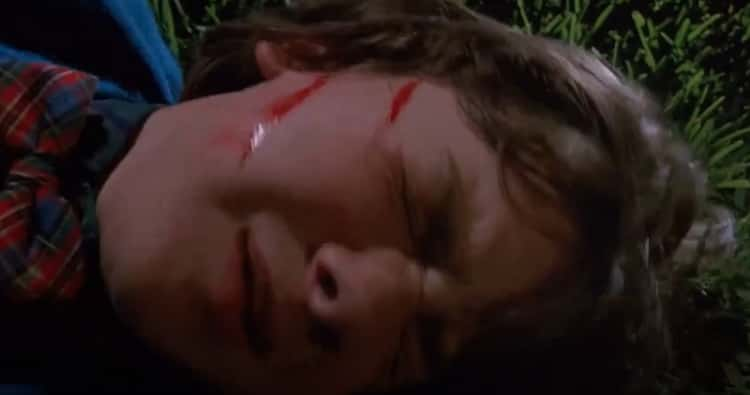 Edward Slices Open Kevin's Face