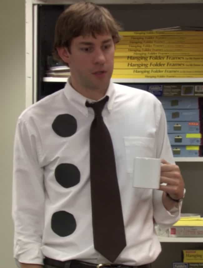 Three-Hole Punch Jim is listed (or ranked) 4 on the list The Best Halloween Costumes From 'The Office,' Ranked
