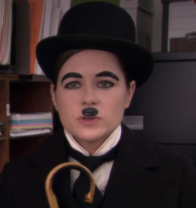 Charlie Chaplin is listed (or ranked) 4 on the list The Best Halloween Costumes From 'The Office,' Ranked