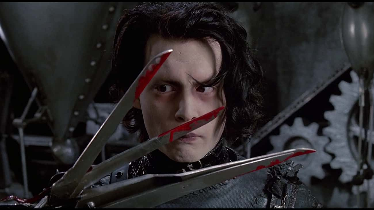 Edward Probably Lived With His is listed (or ranked) 1 on the list The 14 Most Disturbing Moments From 'Edward Scissorhands'