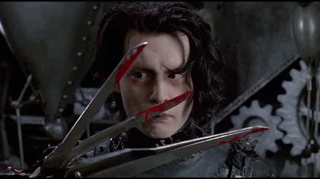 Edward Probably Lived Wi... is listed (or ranked) 2 on the list The 14 Most Disturbing Moments From 'Edward Scissorhands'