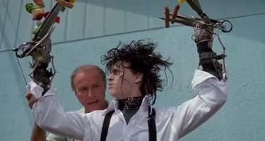 Peg's Neighbors See Edward As  is listed (or ranked) 5 on the list The 14 Most Disturbing Moments From 'Edward Scissorhands'