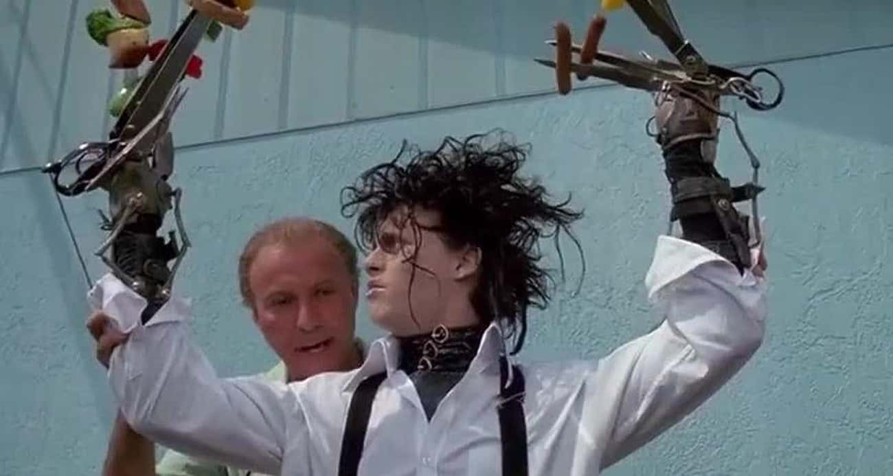 Peg's Neighbors See Edward As  is listed (or ranked) 2 on the list The 14 Most Disturbing Moments From 'Edward Scissorhands'