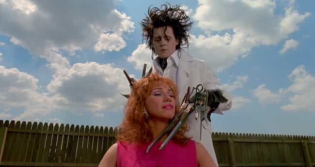 Joyce Likes To Get Her H... is listed (or ranked) 4 on the list The 14 Most Disturbing Moments From 'Edward Scissorhands'