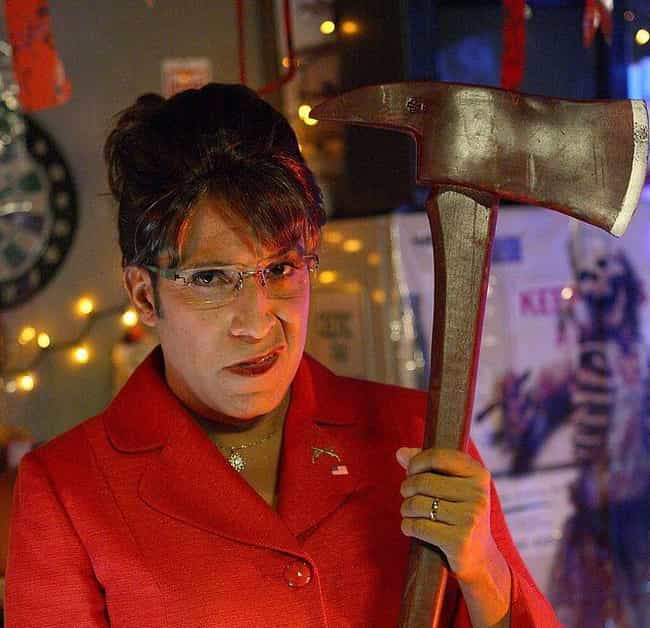 Sarah Palin is listed (or ranked) 4 on the list The Best Halloween Costumes From 'The Office,' Ranked