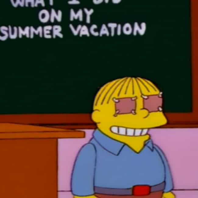 My Eyes Were Lazy is listed (or ranked) 2 on the list The Best Ralph Wiggum Quotes of All Time