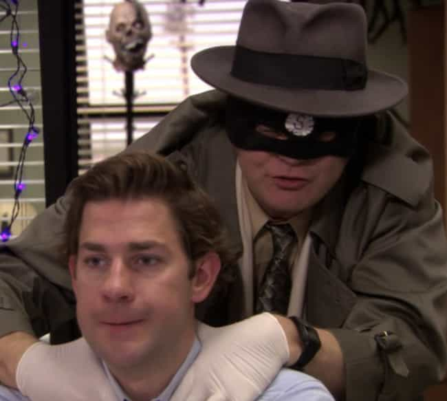 The Scranton Strangler is listed (or ranked) 4 on the list The Best Halloween Costumes From 'The Office,' Ranked