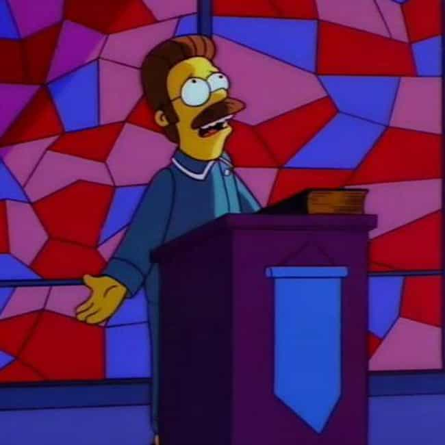Contradicts The Other St... is listed (or ranked) 2 on the list The Best Ned Flanders Quotes of All Time