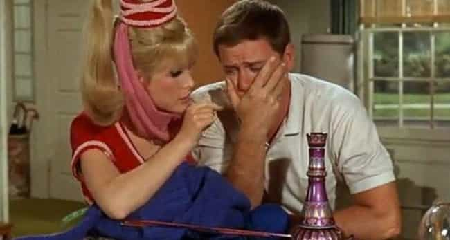 Larry Hagman Might Have Vomite... is listed (or ranked) 3 on the list Dark Behind-The-Scenes Stories About 'I Dream Of Jeannie'