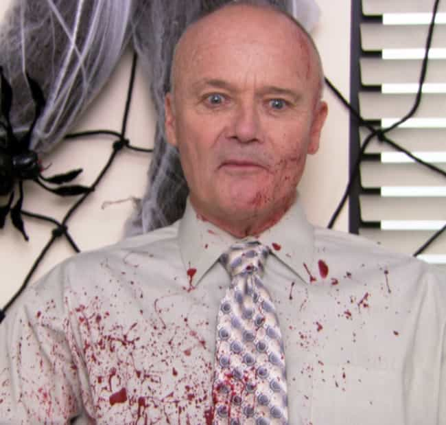 """""""Really, Really Goo... is listed (or ranked) 2 on the list The Best Halloween Costumes From 'The Office,' Ranked"""
