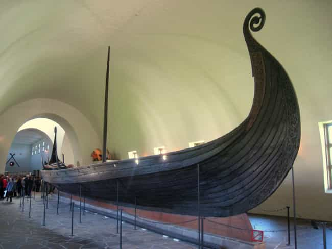 Oseberg Viking Ship, Oslo, Nor... is listed (or ranked) 1 on the list Ridiculously Old, Well-Preserved Historical Artifacts From Ancient Cultures Around The World