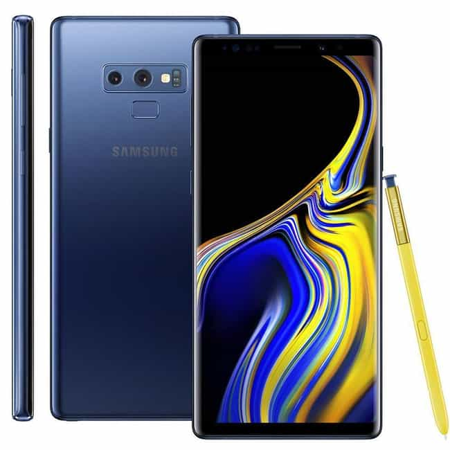 Samsung Galaxy Note 9 is listed (or ranked) 1 on the list The Best Smartphones of the Year