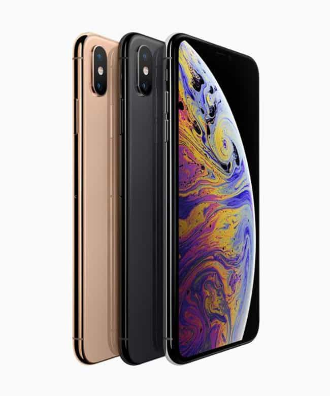 Apple iPhone XS is listed (or ranked) 2 on the list The Best Smartphones of the Year