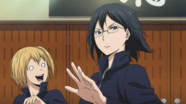 Hitoka Yachi & Kiyoko Shimizu ... is listed (or ranked) 1 on the list The 20 Best Female Characters From Sports Anime