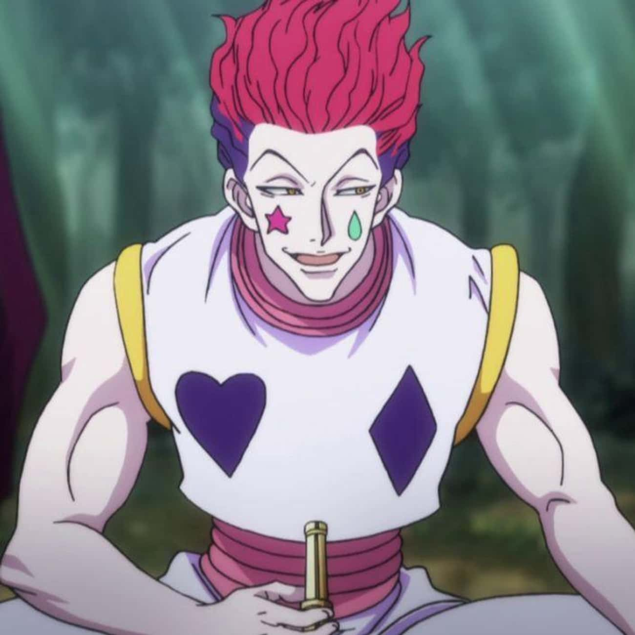 Excited is listed (or ranked) 4 on the list The Best Hisoka Morow Quotes