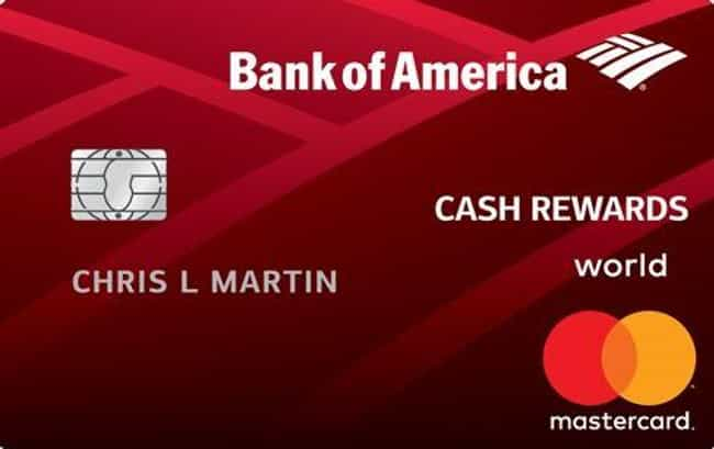 Bank of America® Cash Rewards ... is listed (or ranked) 3 on the list The Best Credit Card Sign Up Bonuses