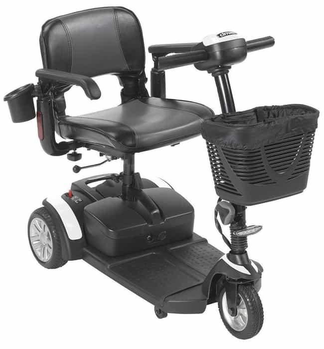 Spitfire EX2 3 Wheel Scooter is listed (or ranked) 3 on the list The Best Power Scooters