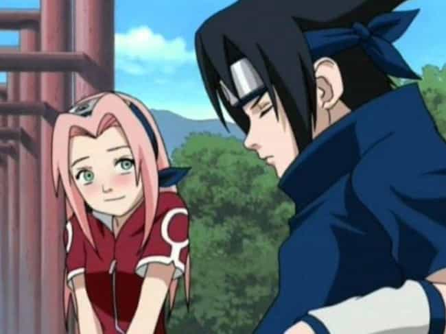 Sakura Haruno & Sasuke Uchiha ... is listed (or ranked) 4 on the list The 13 Worst Anime Couples of All Time