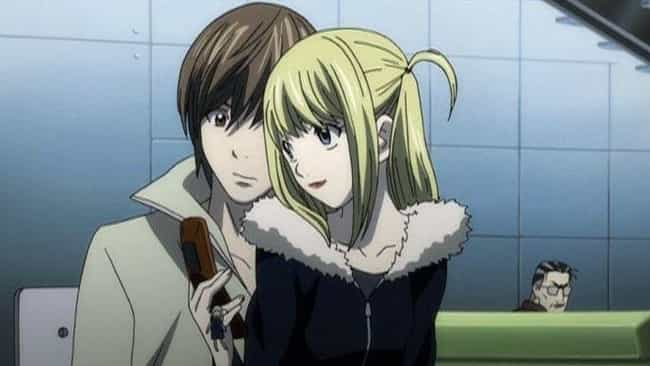 Light Yagami & Misa Amane - 'D... is listed (or ranked) 3 on the list The 13 Worst Anime Couples of All Time